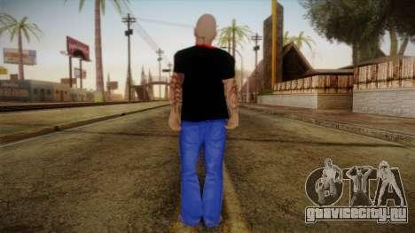 Phil Anselmo Skin для GTA San Andreas второй скриншот