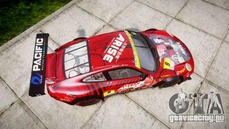 Porsche 911 Super GT 2013 для GTA 4 вид справа