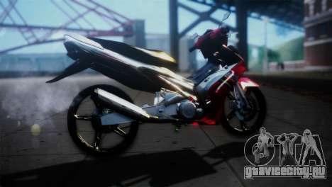 Yamaha Jupiter Mx для GTA San Andreas вид слева