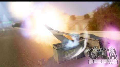 GTA V Rhino V2 для GTA San Andreas вид сзади слева