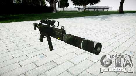 Тактический пистолет-пулемёт MP5 для GTA 4