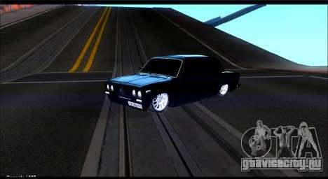 ВАЗ 2106 Черныш для GTA San Andreas