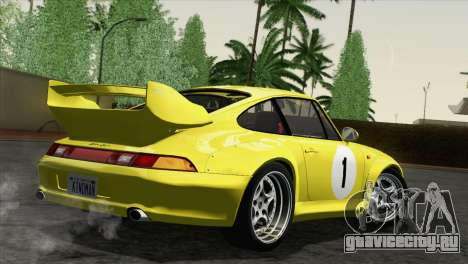 Porsche 911 GT2 (993) 1995 [HQLM] для GTA San Andreas вид сбоку