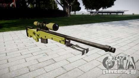 Снайперская винтовка AWP для GTA 4