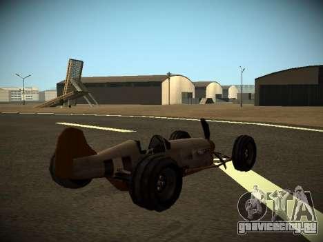 Rustler Стержень Бета для GTA San Andreas вид слева