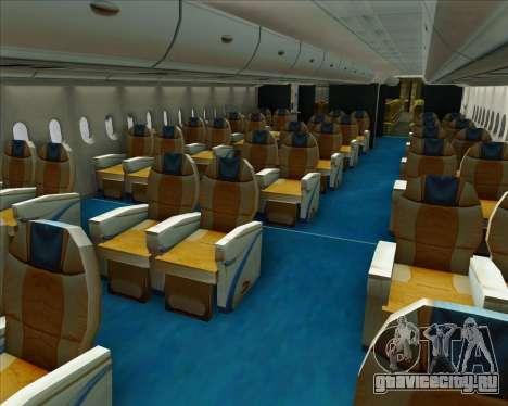 Airbus A380-800 Garuda Indonesia для GTA San Andreas