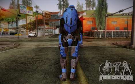 Garrus Helmet from Mass Effect 2 для GTA San Andreas второй скриншот