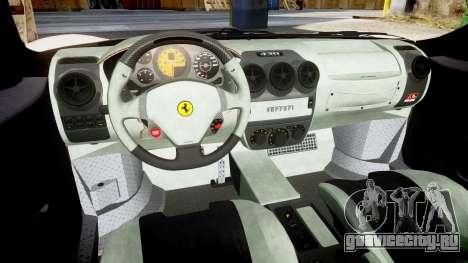 Ferrari F430 Scuderia 2007 plate F430 для GTA 4 вид изнутри