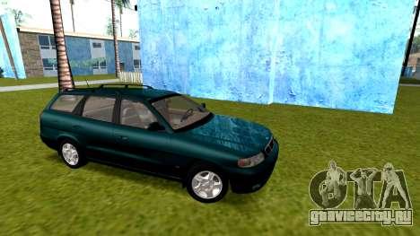 Daewoo Nubira I универсал CDX США, 1999 г. для GTA San Andreas вид сзади