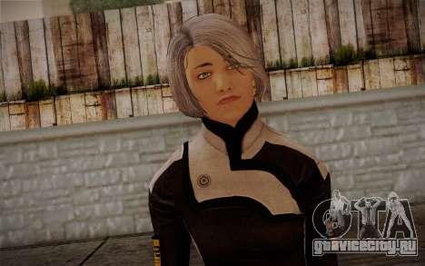 Karin Chakwas from Mass Effect для GTA San Andreas третий скриншот