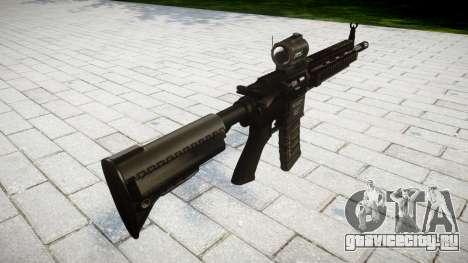 Автомат HK416 AR для GTA 4 второй скриншот