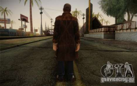 Aiden Pearce from Watch Dogs v11 для GTA San Andreas второй скриншот