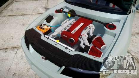 Nissan Skyline GT R33 1996 Sharpie для GTA 4 вид изнутри