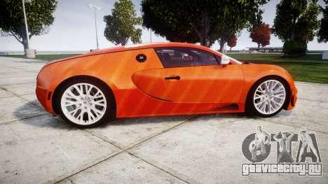 Bugatti Veyron 16.4 SS [EPM] Halloween Special для GTA 4 вид слева