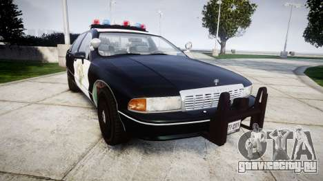 Chevrolet Caprice 1991 Highway Patrol [ELS] для GTA 4