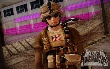 Brady from Battlefield 3 для GTA San Andreas третий скриншот
