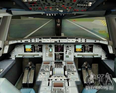 Airbus A380-800 Garuda Indonesia для GTA San Andreas салон