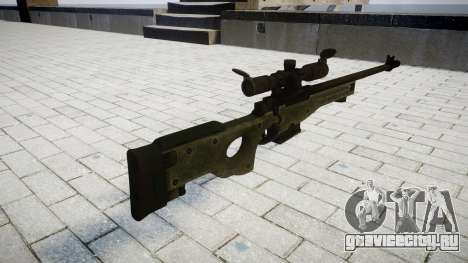 Винтовка Accuracy International L96A1 для GTA 4 второй скриншот