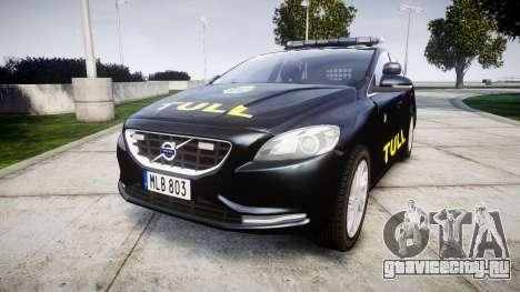 Volvo V40 Swedish TULL [ELS] для GTA 4