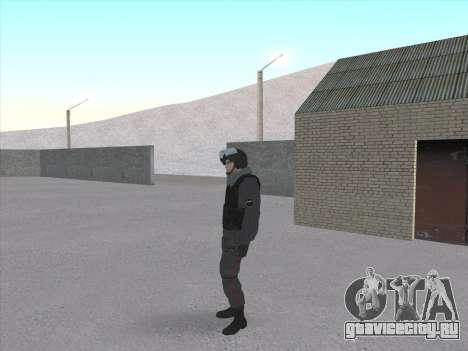 Солдат ВВ МВД РФ для GTA San Andreas третий скриншот