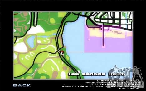 Дорожная автомастерская Сиджея для GTA San Andreas седьмой скриншот
