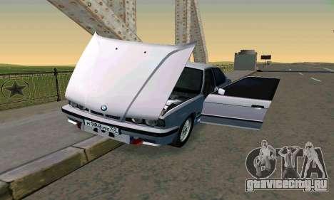 BMW 525 Turbo для GTA San Andreas вид сбоку