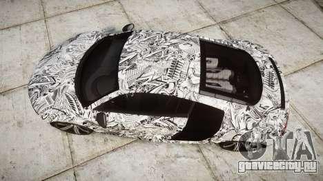 Audi R8 plus 2013 Wald rims Sharpie для GTA 4 вид справа