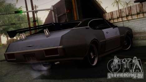 Clover Mejorado для GTA San Andreas вид слева
