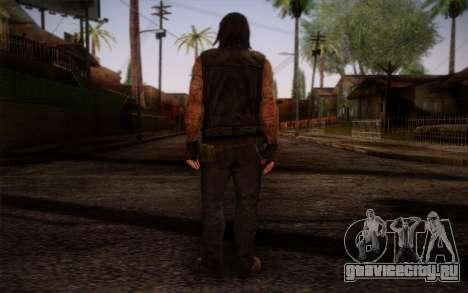 Francis from Left 4 Dead Beta для GTA San Andreas второй скриншот