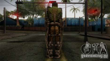 Army Exoskeleton для GTA San Andreas второй скриншот