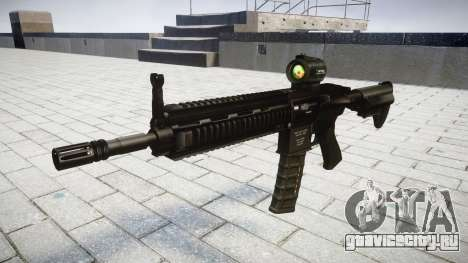 Автомат HK416 AR target для GTA 4