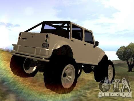 GTA 5 Mesa MerryWeather version для GTA San Andreas вид слева