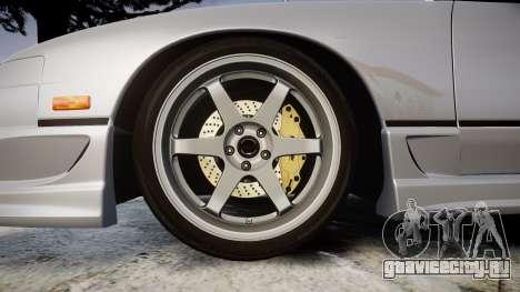 Nissan 240SX SE S13 1993 для GTA 4 вид сзади