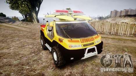 Ford Intruder Lifeguard Beach [ELS] для GTA 4