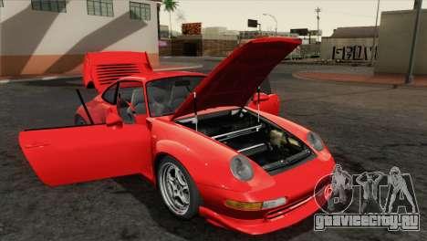 Porsche 911 GT2 (993) 1995 [HQLM] для GTA San Andreas вид сзади