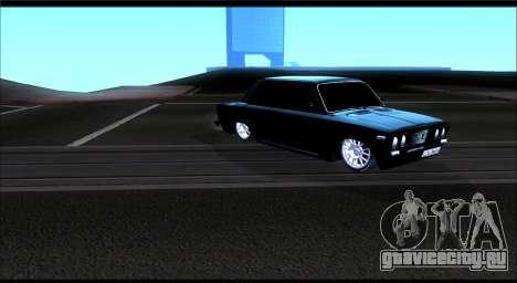 ВАЗ 2106 Черныш для GTA San Andreas вид слева