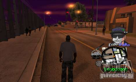 C-HUD by Travis Escobaro and Matthew Escobaro для GTA San Andreas третий скриншот