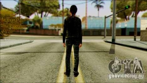 Ellie from The Last Of Us v2 для GTA San Andreas второй скриншот