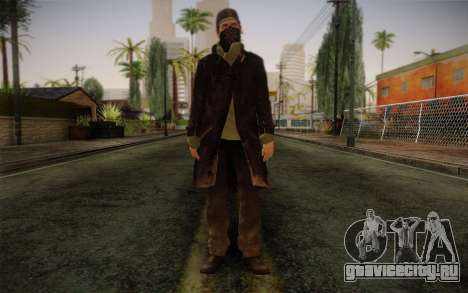 Aiden Pearce from Watch Dogs v2 для GTA San Andreas