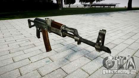 Автомат АК-74 для GTA 4