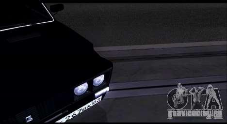 ВАЗ 2106 Черныш для GTA San Andreas вид справа