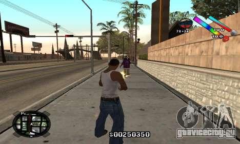 C-HUD Classic для GTA San Andreas второй скриншот