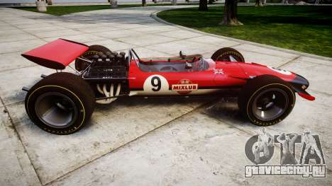 Lotus Type 49 1967 [RIV] PJ9-10 для GTA 4 вид слева
