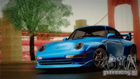 Porsche 911 GT2 (993) 1995 для GTA San Andreas вид сзади слева
