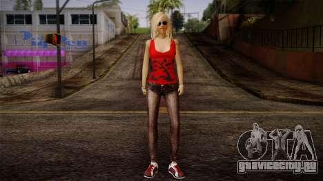 Gedimas Denise Skin HD для GTA San Andreas