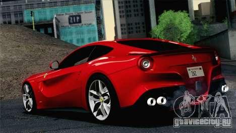 Ferrari F12 Berlinetta 2013 для GTA San Andreas вид слева