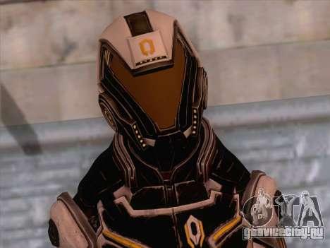 Cerberus Female Armor from Mass Effect 3 для GTA San Andreas третий скриншот