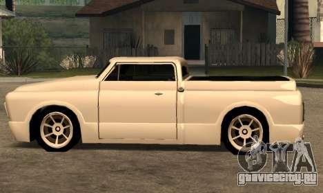 Beta Slamvan для GTA San Andreas вид сзади