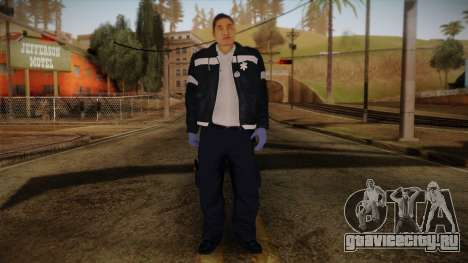 GTA 4 Emergency Ped 9 для GTA San Andreas