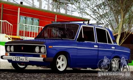 ВАЗ 2106 Russian style для GTA San Andreas вид слева